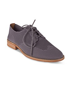 Women's Babe Knit Oxford Shoes