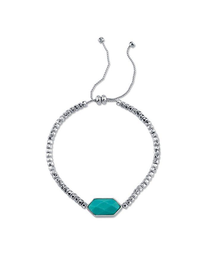 Unwritten - Genuine Stone Adjustable Bolo Bracelet