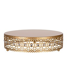 "Gemma 16"" Metal Wedding Cake Stand"