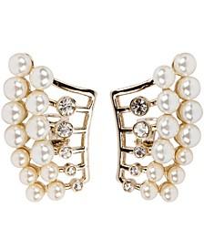 18k Gold Plated Unicorn Pierced Earring