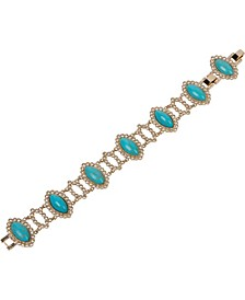 18k Gold Plated Drop Bracelet
