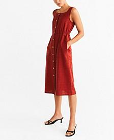 Buttons Cotton Dress
