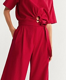 Cotton Culottes Trousers