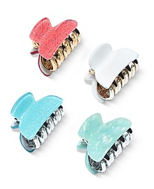 INC 4-Pc. Set Claw Hair Clips, Created for Macy's