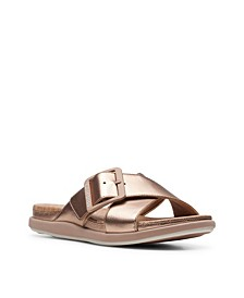 Cloudsteppers Women's Step JuneShell Flat Sandals