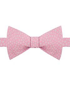 Men's Pre-Tied Mini-Floral Bow Tie