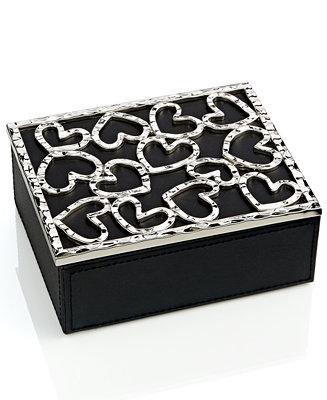Michael aram heart jewelry box macy 39 s for Macy s standing jewelry box