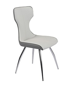 Sandra Side Chair with Bucket Seat, Set of 4