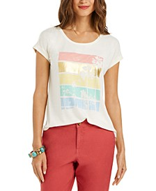 Petite Graphic T-Shirt, Created for Macy's