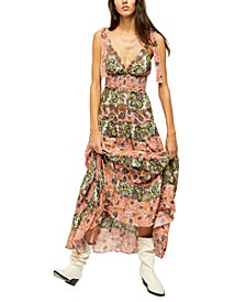 Let's Smock About It Maxi Dress