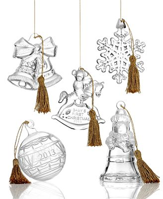 Marquis by Waterford Crystal 2013 Christmas Ornaments ...