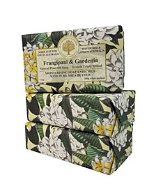 Frangipani and Gardenia Soap with Pack of 3, Each 7 oz