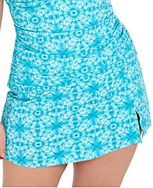 Trendy Plus Size Skirted Swim Bottoms