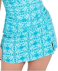 Trendy Plus Size Skirted Swim Bottoms