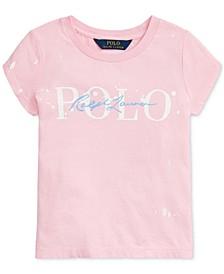 Little Girls Paint-Splatter Cotton T-Shirt