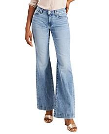 Dojo Mid-Rise Flared Jeans