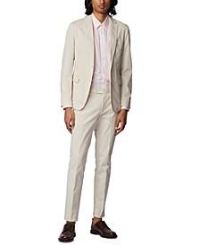 BOSS Men's Hanry /Barlow Natural Suit
