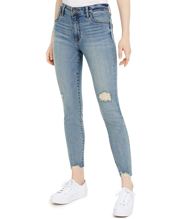Kut from the Kloth Distressed Skinny Jeans