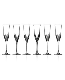 Stemware, Lismore Essence Flutes, Set of 6