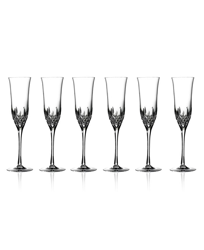 Waterford - Set of 6 Lismore Essence Flutes