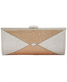 INC Carolyn Mixed Metal Clutch, Created for Macy's