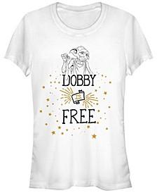 Harry Potter Dobby Is A Free Elf Women's Short Sleeve T-Shirt