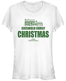 National Lampoon's Christmas Vacation Griswold Family House Women's Short Sleeve T-Shirt