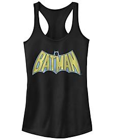 DC Batman Retro Cape Logo Women's Racerback Tank