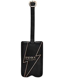 Receive a Complimentary Bad Boy Luggage Tag with any large spray purchase from the Carolina Herrera Bad Boy Fragrance Collection