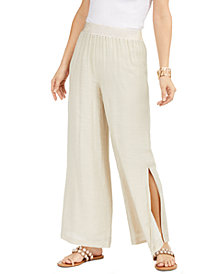 Thalia Sodi Wide-Leg Pull-On Pants, Created for Macy's