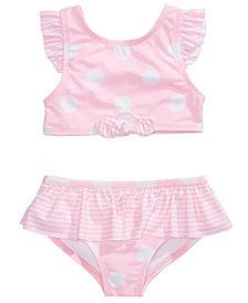 Penelope Mack Toddler & Little Girls 2-Pc. Dot-Print Tankini
