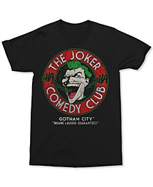 Joker Comedy Club Men's Graphic T-Shirt
