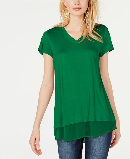 INC International Concepts INC V-Neck Tunic, Created for Macy's