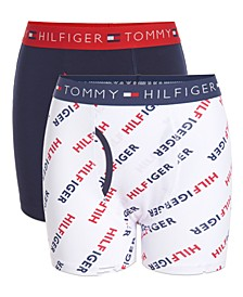 Big Boys 2-Pack Hilfiger Boxer Briefs