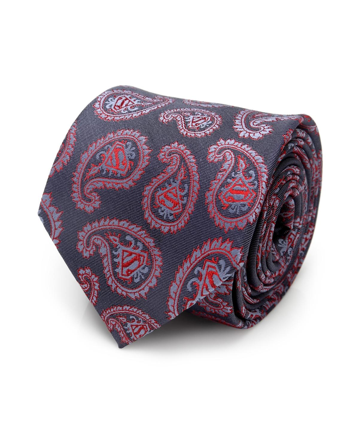 Dc Comics Superman Paisley Men's Tie