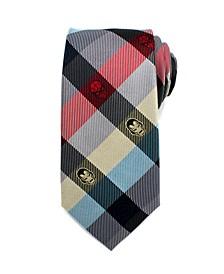 Comics Plaid Men's Tie