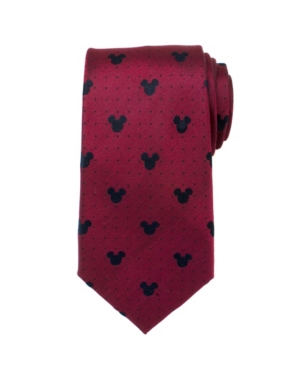 Mickey Mouse Pin Dot Men's Tie
