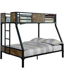 Remiro Metal Twin Over Full Bunk Bed