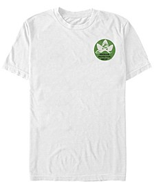 Jurassic World Fallen Kingdom Men's Dinosaur Protection Group Badge Short Sleeve T-Shirt