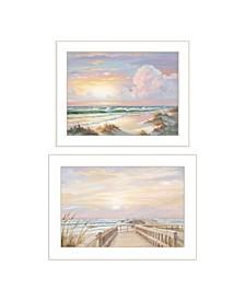 Trendy Decor 4u Sunrise-sunset 2 Piece Vignette by Georgia Janisse Collection