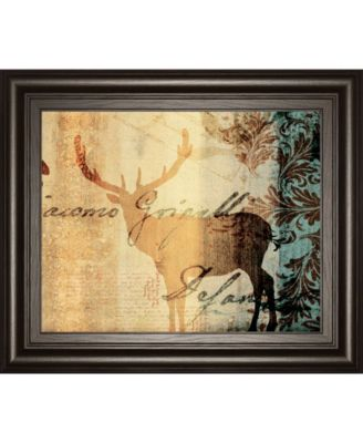 Letter II by F. Leal Framed Print Wall Art - 22