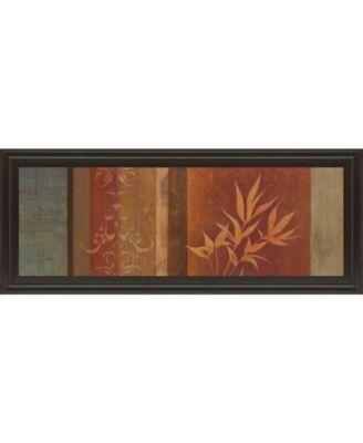 Leaf Silhouette I by Jordan Grey Framed Print Wall Art - 18