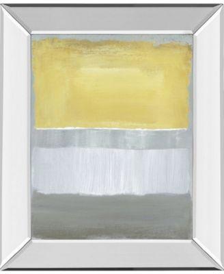 Halflight II by Caroline Gold Mirror Framed Print Wall Art, 22