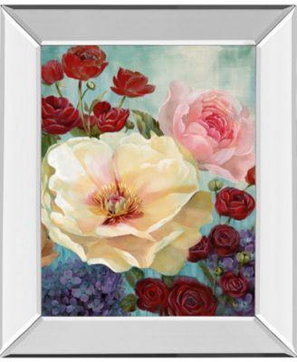June's Celebration I by Nan Mirror Framed Print Wall Art, 22