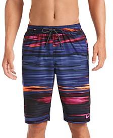"""Men's Sky Stripe Vital 11"""" Volley Swim Trunks"""