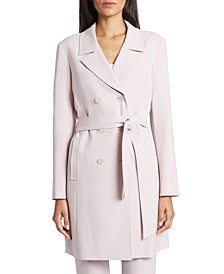 Petite Belted Trench Jacket