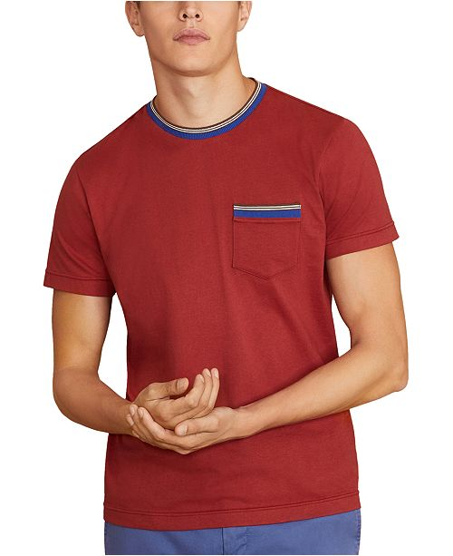 Brooks Brothers Men's Pocket Cotton T-Shirt, Created For Macy's