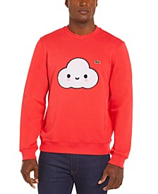 Men's Croco Series FriendsWithYou Limited-Edition Sweatshirt with Large Cloud Graphic