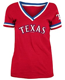 Texas Rangers Women's Contrast Binding T-Shirt