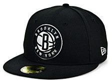 Brooklyn Nets The Circle Patch 59FIFTY-FITTED Cap
